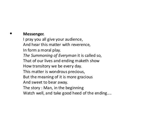 the summoning of everyman summary