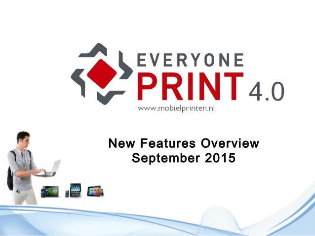 New Features Overview September 2015