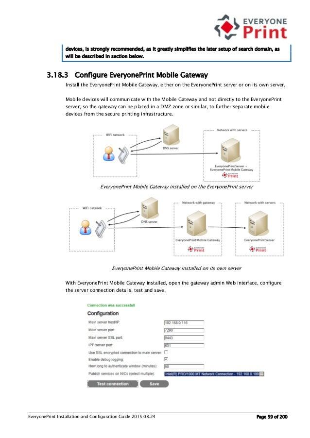 Everyoneprint 4 0 Installation Guide