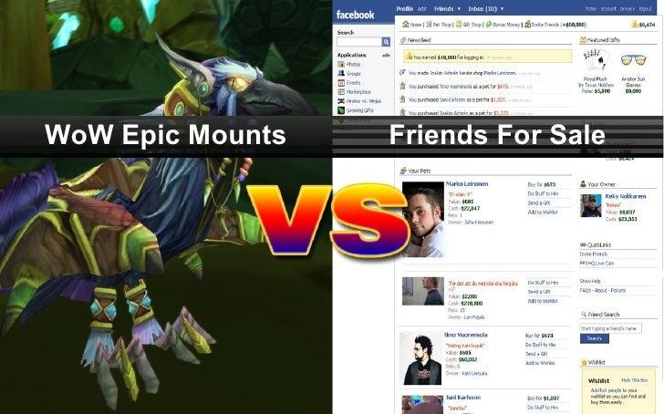 WoW Epic Mounts Friends For Sale