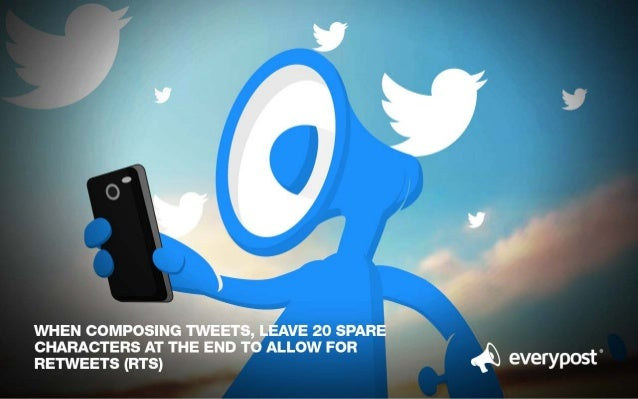""",__ _' 1  WHEN COMPOSING TWEETS,  LEAVE 20 SPARE CHARACTERS AT THE END TO ALLOW FOR  RETWEETS (ms)  eVe  'YP°5t"""""""