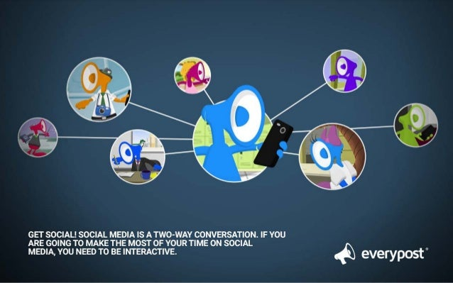 GET SOCIAL!  SOCIAL MEDIA IS A TWO-WAY CONVERSATION.  IF YOU ARE GOING TO MAKE THE MOST OF YOUR TIME ON SOCIAL  MEDIA,  YO...