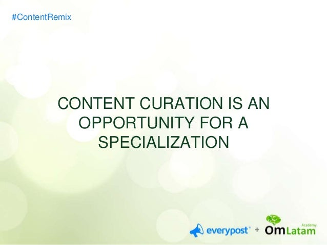 FIVE IDEAS FOR YOUR  STRATEGY  #ContentRemix