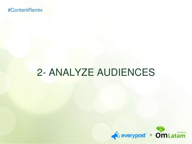 #ContentRemix  3- PRACTICE WITH TITLES