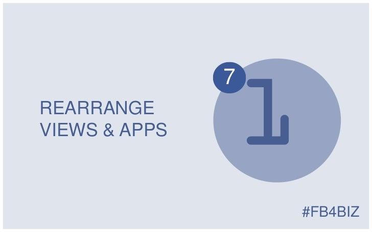 7REARRANGEVIEWS & APPS                   #FB4BIZ
