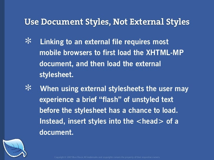 Everything you wanted to know about the mobile web but were afraid to ask...blueflavor.com Slide 98