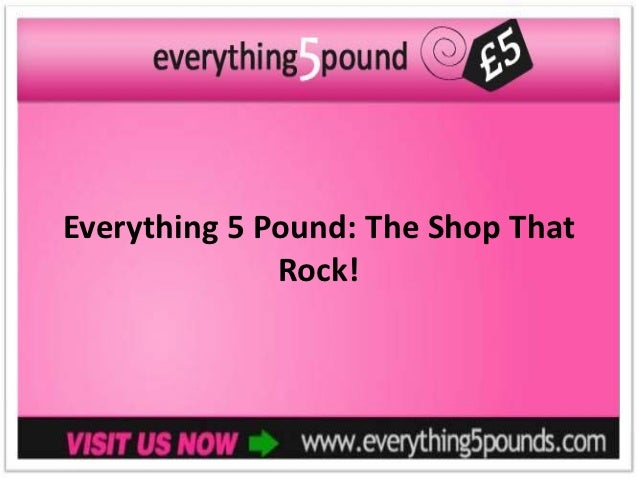 Everything 5 Pound: The Shop That              Rock!