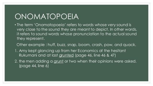 onomatopoeia in to kill a mockingbird