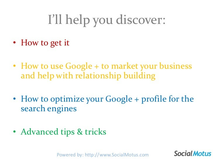 Everything You Need To Know About Google Plus Slide 2