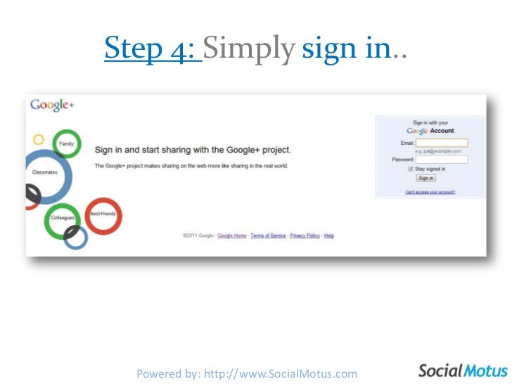 Step 4: Simply sign in..<br />