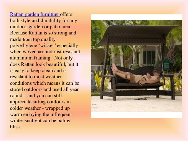 Garden Furniture Offers everything you need to know about rattan garden furniture