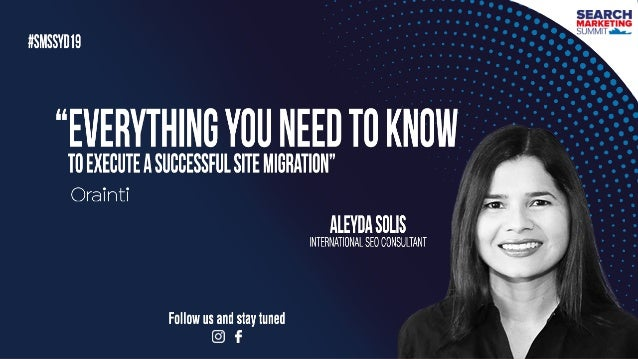 #webmigrations at #smssyd19 by @aleyda from @orainti#webmigrations at #yoastcon by @aleyda from @orainti#webmigrations at ...