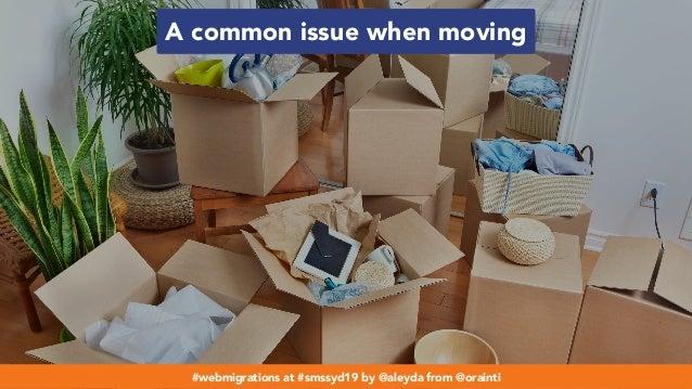 #webmigrations at #smssyd19 by @aleyda from @orainti A common issue when moving #webmigrations at #smssyd19 by @aleyda fro...