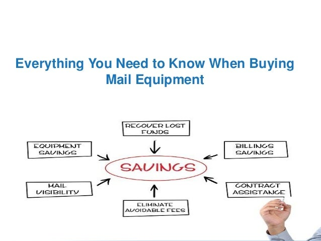 Everything You Need to Know When Buying Mail Equipment