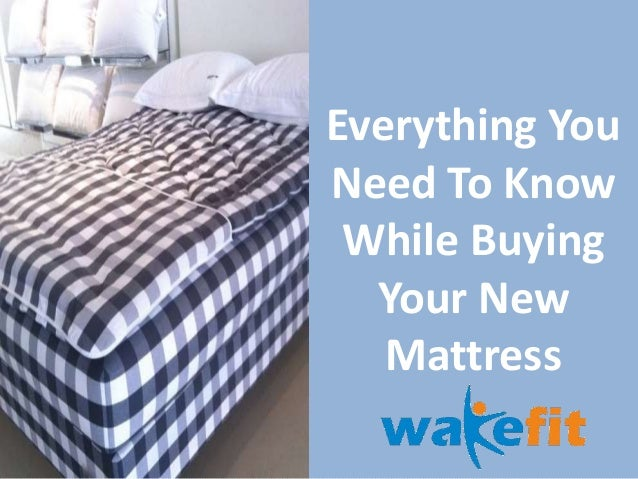 Elegant Everything You Need To Know While Buying Your New Mattress