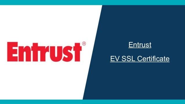 EV (Extended Validation) SSL Certificate