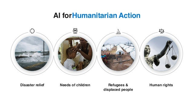 Humanitarian ActionAI for Disaster relief Needs of children Refugees & displaced people Human rights