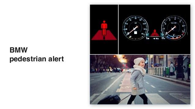 BMW  pedestrian alert
