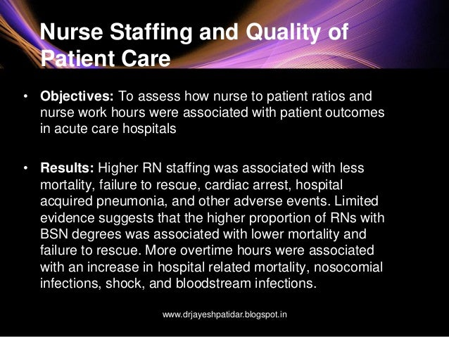 nurse staffing essay Read this essay on important of adequate nursing staff come browse our large digital warehouse of free sample essays get the knowledge you need in order to pass your classes and more.