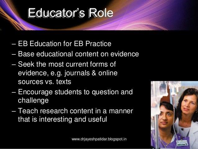 evidence based practice in nursing pdf