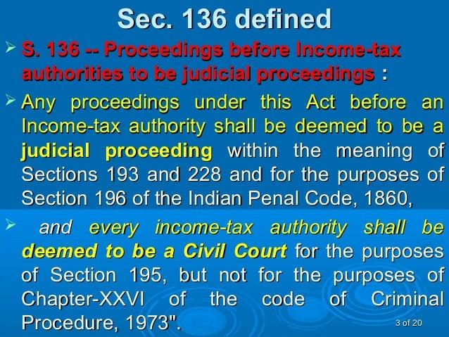 ipc section 136