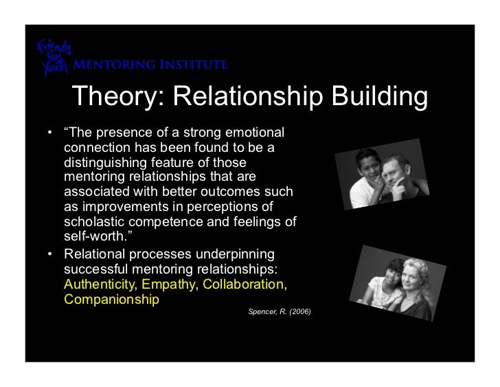 building the mentoring relationship theory