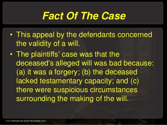Evidence law Slide 2
