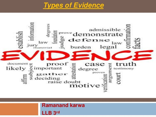types of evidence Understanding evidence is an interactive web resource developed by cdc's division of violence prevention that supports public health practitioners in making evidence-informed decisions around violence prevention.
