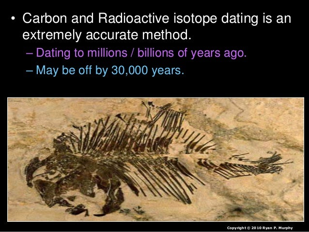 carbon dating in biology