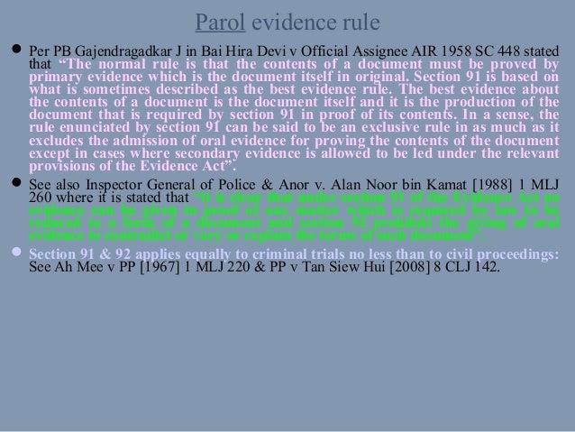 EVIDENCE 2