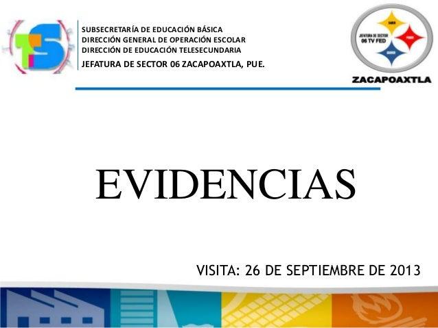 SUBSECRETARÍA DE EDUCACIÓN BÁSICA DIRECCIÓN GENERAL DE OPERACIÓN ESCOLAR DIRECCIÓN DE EDUCACIÓN TELESECUNDARIA JEFATURA DE...
