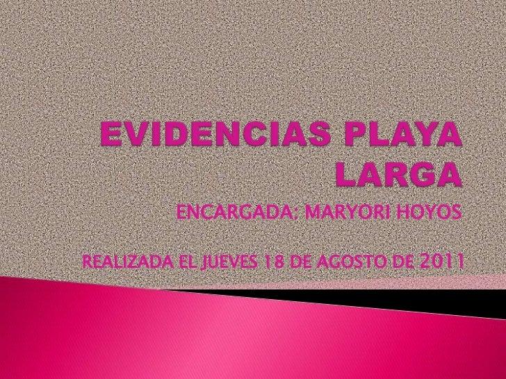 ENCARGADA: MARYORI HOYOSREALIZADA EL JUEVES 18 DE AGOSTO DE 2011