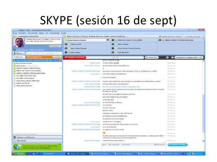 Evidencia skype carlos chavarria Slide 2