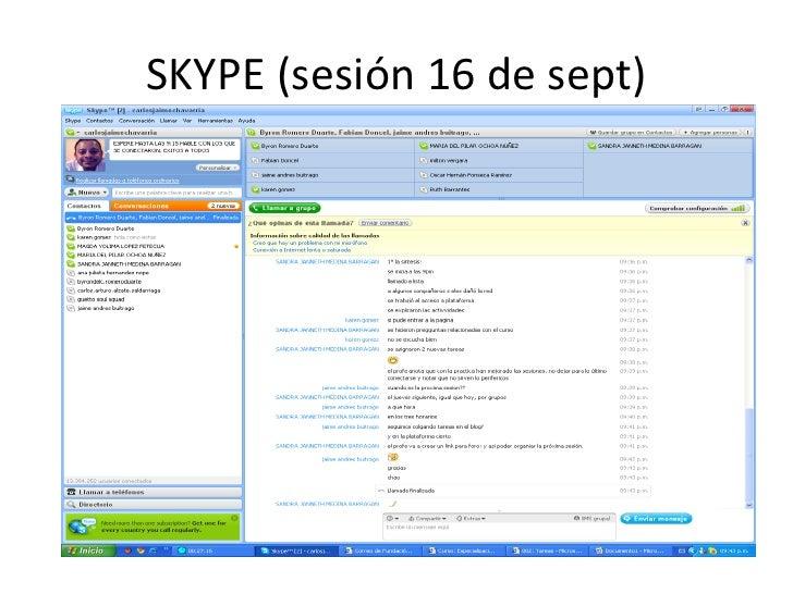 Evidencia skype carlos chavarria Slide 3