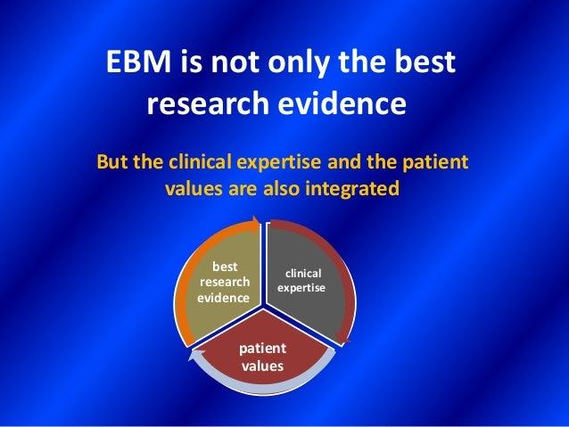 Evidence based individual decision making Slide 2