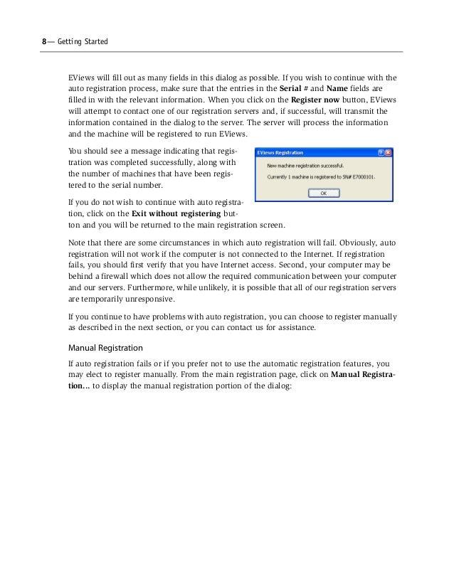Serial number eviews 7 student version mac free download