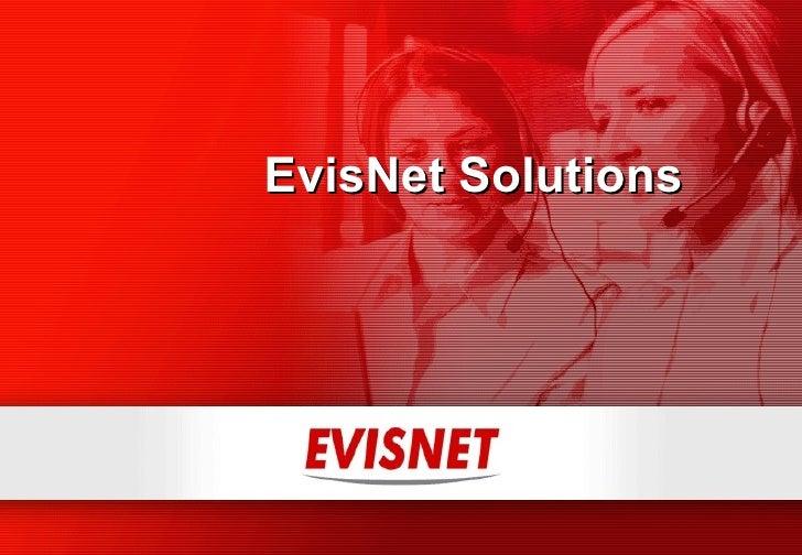 EvisNet Solutions