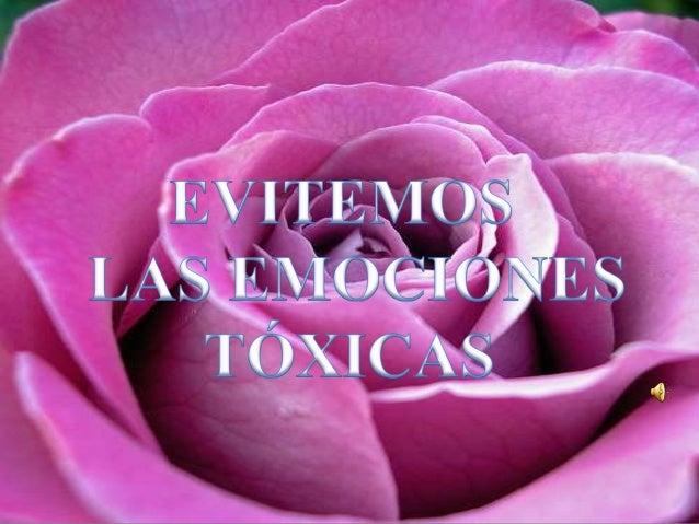 Evitemos las emociones toxicas