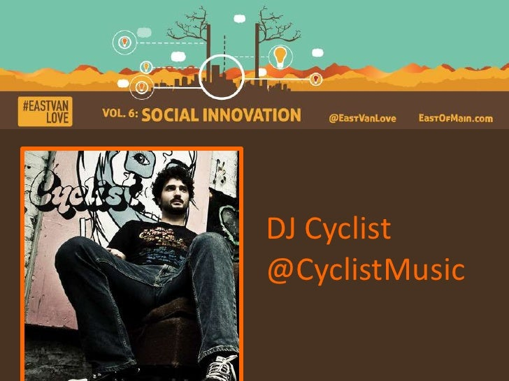 DJ Cyclist@CyclistMusic