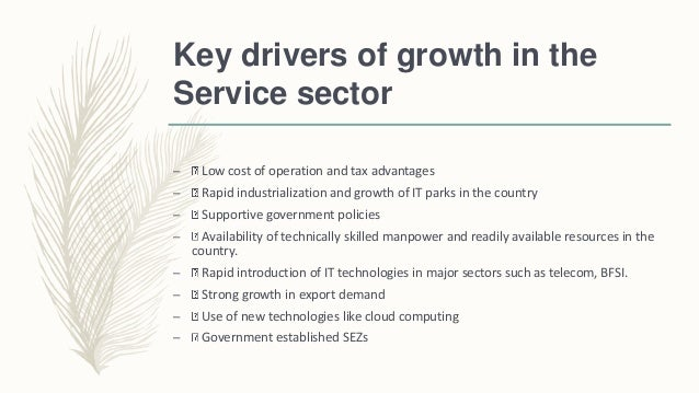 essay evolution and growth of service sector In the service sector, computer algorithms can execute stock trades in a  after  growth resumed, many businesses continued automating their.