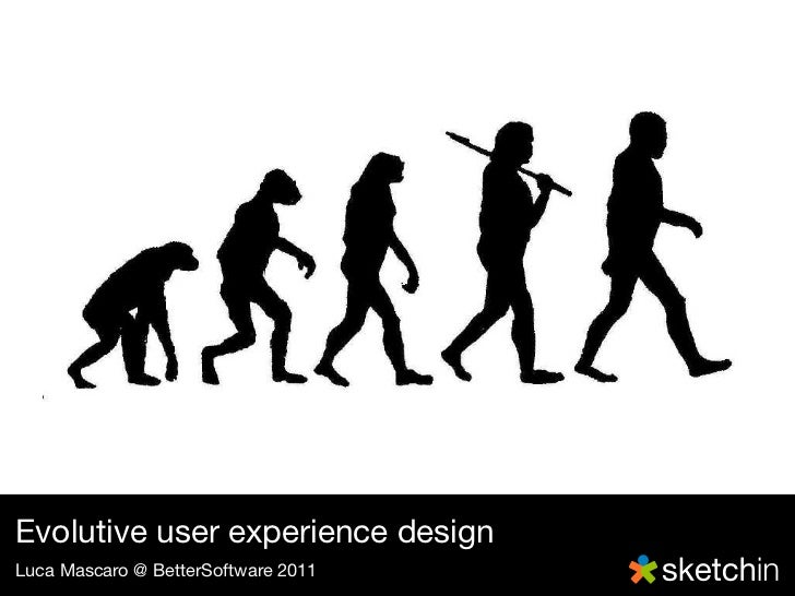 By National DNA DayEvolutive user experience designLuca Mascaro @ BetterSoftware 2011