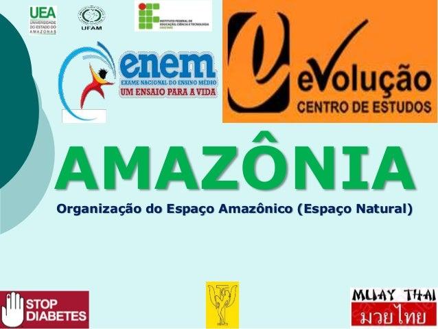 AMAZÔNIAOrganização do Espaço Amazônico (Espaço Natural)