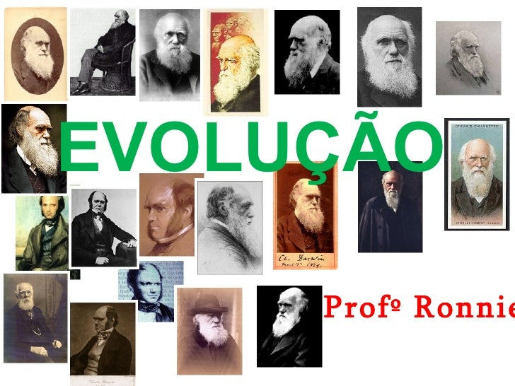 EVOLUÇÃO Profº Ronnie