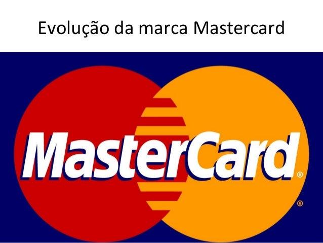Evolução da marca Mastercard