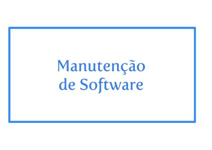 Evolucao de software - parte 2