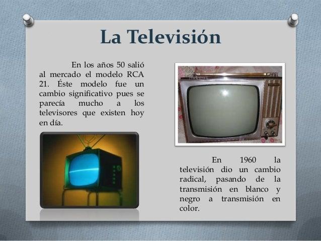 Evoluci n de la televisi n - El armario de la tv ...