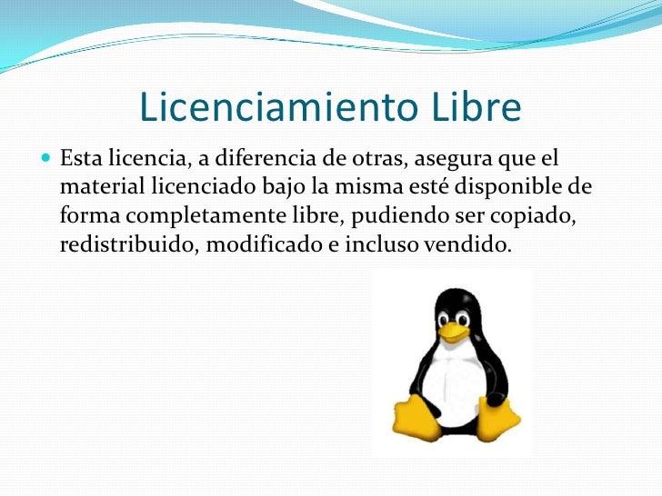 Evoluci n del software for Diferencia entre licencia de apertura y licencia de actividad