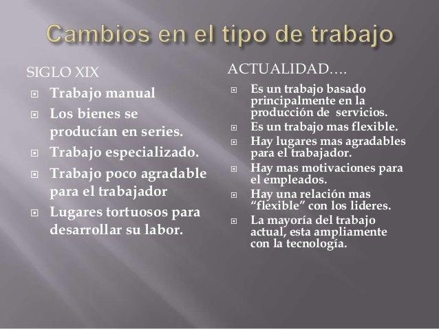 Evolución del trabajo Slide 2