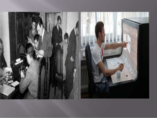 El avance tecnológico influyo de gran manera en las nuevas modalidadesdel trabajo actual, ya que le permite a los empleado...