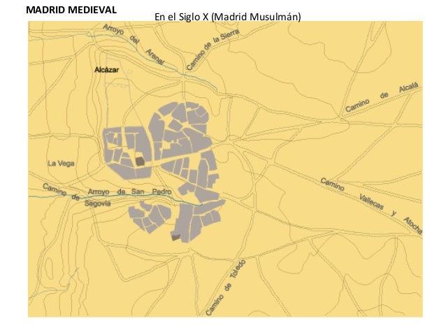 Evolución histórica del asentamiento poblacional de Madrid Slide 2